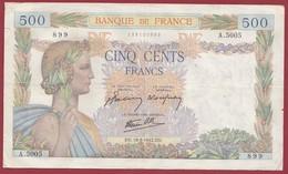 """50 Francs """"La Paix""""--du 19/03/1942.DN----F/TTB+--ALPH.A.5005 - 1871-1952 Anciens Francs Circulés Au XXème"""