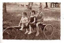 ENFANT . TROIS ENFANTS ET QUADRICYCLE  - Réf. N°24329 - - Szenen & Landschaften