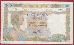 """50 Francs """"La Paix""""--du 06/02/1941.BA----F/TTB+--ALPH.Z.2065 - 1871-1952 Anciens Francs Circulés Au XXème"""