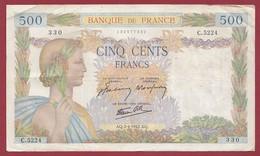 """50 Francs """"La Paix""""--du 02/04/1942.AQ----F/TTB+--ALPH.C.5224 - 1871-1952 Anciens Francs Circulés Au XXème"""