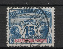 Haut-Senegal Et Niger - Upper Senegal And Niger - Yvert Tax3 Oblitéré TOUKOTO - Scott#J3 - Opper-Senegal En Niger (1904-1921)