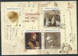 Italia, Italy, Italie, Italien 2019; Leonardo Da Vinci, S/S, Nel V Centenario Della Morte. - Arte
