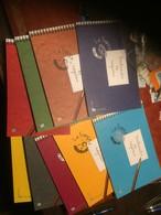 France 2003 à 2007 Lot De 9 Carnets De Voyages, Cote 344 Euros, Faciale 46,70 Euros - Carnets