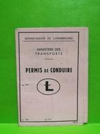 Luxembourg, Permis De Conduire 1975 - Historische Documenten