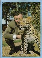 Ermenonville (60) Zoo Jean-Richard Monsieur Maouzi (Léopard) 2scans 15-07-1979 - Ermenonville