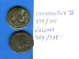 Romaine  2  Pieces - 8. El Bajo Imperio Romano (363 / 476)