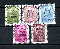 B50 France N° 4342 à 4346 Avec Belle Oblitération Ronde De L'année En Cours - Oblitérés