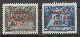 Venezuela 1947 Mi# 500-01** DEFINITIVES - Venezuela