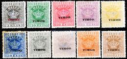 !■■■■■ds■■ Timor 1886 AF#01(*) Crown Complete Set (x12901) - Timor