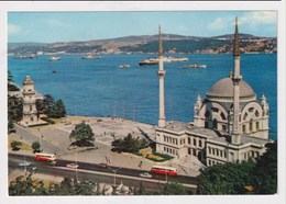 TURKEY  - AK 373320 Istanbul - The Mosque Of Dolmabahce And The Bosphorus - Turkey