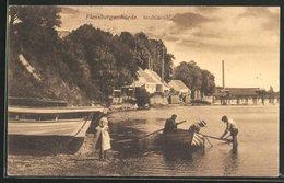 AK Stranderott / Stranderod, Ruderboot Am Ufer - Dänemark