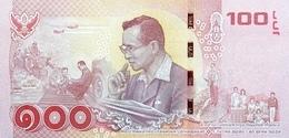 THAILAND P. 132 100 B 2017 UNC - Thailand