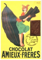 Série Des 3 Cartes Maximum Timbres YT 4357, 4361 Et 4365, Le Chocolat, 1er Jour 23 05 2009 Bayonne 64 TBE 3 Scans - Cartes-Maximum
