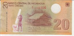 Nicaragua - 20 Córdobas - Nicaragua