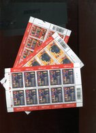 Belgie 2003 Nr 3218/20 Books Printing Literature Full Sheet Plaatnummer 432 - Belgien
