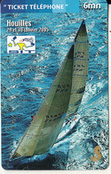 FRANCE - Sailing/Beneteau, S.I.T. 2005, France Telecom Promotion Prepaid Card, Tirage 1000, 01/05, Mint - Sport