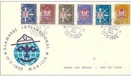 INDONESIA - 17 7 1959 FDC SCOUT - Zonder Classificatie