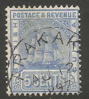 BRITISH GUIANA. 5c USED ARAKAK POSTMARK - British Guiana (...-1966)