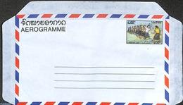 Laos 1990 Aerogramme 400k, (Unused Postal Stationary) - Laos