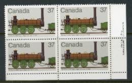 "Canada 1983 MNH ""Locomotives"" - 1952-.... Reign Of Elizabeth II"