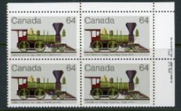 "Canada 1983 ""Locomotives"" - 1952-.... Reign Of Elizabeth II"