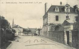 """/ CPA FRANCE 53 """"Daon, Route De Saint Michel"""" - Frankrijk"""