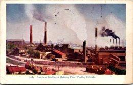 Colorado Pueblo American Smelting & Refining Plant 1906 - Pueblo