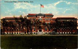 Colorado Pueblo Centennial High School Curteich - Pueblo