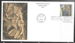 US  1998  Sc#3183d  Celebrate The Century Armory Show 1913 On FDC - Moderne