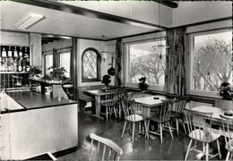 ! S/w Ansichtskarte Restaurant Hotel Terminus, Bas Scuol-Tarasp, Schweiz - GR Grisons