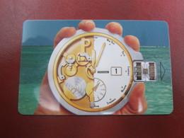 Schlumberger Chip DEMO Card,Watch - France