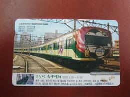 Autelca  Phonecard,Seoul Subways,used - Korea (Zuid)