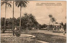 61thl 319 CPA - FRENCH GUINEA - CONAKRY - PLACE DU GOUVERNEMENT - French Guinea