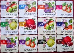 Tajikistan  2005  Fruits 12 V MNH - Tadschikistan