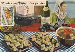 Recette E. Bernard N°91 - Moules & Palourdes Farcies - Cuisine - Plats Régionaux - Cachet Foire Gastronomique Dijon (21) - Recipes (cooking)