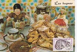 Recette Emilie Bernard N°173 - Les Bugnes - Cuisine - Plats Régionaux - Cachet Foire Gastronomique Dijon (21) - Recipes (cooking)