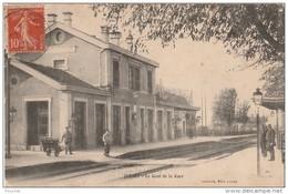 Q12- 70) JUSSEY  (HAUTE SAONE) LE CANAL DE LA GARE   - (ANIMÉE) - France