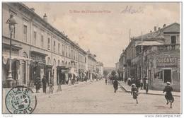 Q26- 30)  ALAIS (GARD)  RUE DE L'HOTEL DE VILLE  - (ANIMÉE) - Alès