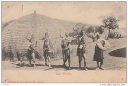 R1- AFRIQUE DU SUD -  GUERRIERS  ZOULOU - ZULU WARRIORS  - (É SCANS) - Afrique Du Sud