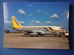 SUDAN AIRWAYS  B 737 200   ST-AFL   /   Collection Vilain N°1165 - 1946-....: Ere Moderne