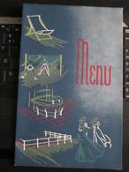 Compagnie Maritime Belge 1959 Diner Au Revoir Elisabethville Laatste Boot ??? - Menus