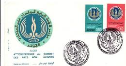 Alger 1973 - FDC Conférence Pays Non-alignés - Algérie (1962-...)
