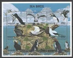 PK157 TANZANIA FAUNA SEA BIRDS 1KB MNH - Marine Web-footed Birds