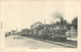 SORCY LA GARE INTERIEUR AVEC LE TRAIN - France
