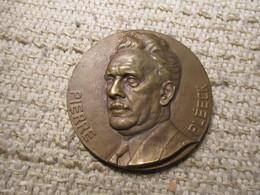 Rau Compagnie Belge D'assurances Generales Sur La Vie Bronze Hommage 7 Cm Dia - Autres Collections