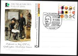 Germany Pluskarte 2004 Europa CEPT W/print Mecklenburg Salon 2006 - Used (G109-44) - [7] Federal Republic