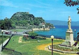 GRECE CORFOU THE OLD FORTRESS  POST CARD  1981  (FEB20788) - Grecia