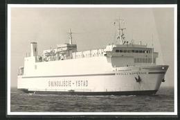 Fotografie Fährschiff Mikolaj Kopernik In Fahrt - Schiffe