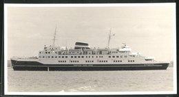 Fotografie Fährschiff Prinsesse Anne-Marie Mit Leicht Geöffneter Bugklappe - Schiffe