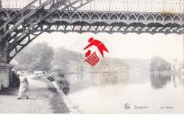SAMSON - La Meuse (avec Pont Métallique) - België